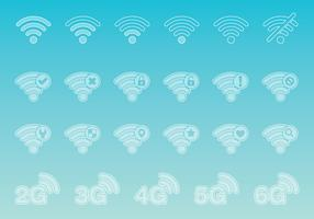 Wi-Fi Transparent Icons
