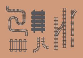 Railroad Vector Set