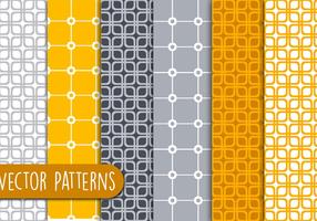Orange Geometric Patterns