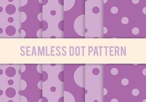 Purple Dot Pattern Vectors
