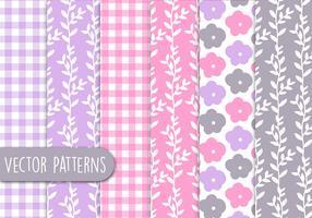 Floral Romantic Pattern Set