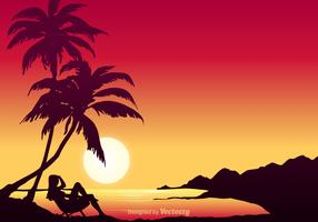 Free Hawaiian Vector Background