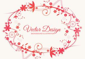 Colorful Floral Style Vector
