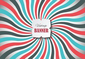 Free Vintage Banner Vector