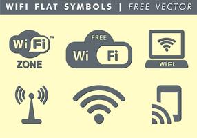 WiFi Symbols Free Vector