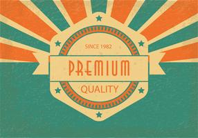 Retro Style Premium Quality Illustration
