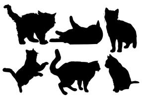 Free Cat Silhouette Vector