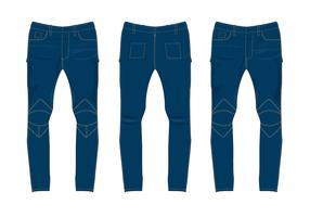 Free Jeans Pants Vector