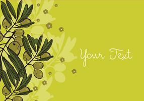 Olive Background Design