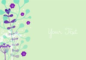 Floral Colorful Background Design