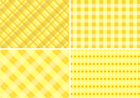 Yellow Table Cloth Backgrounds Free Vector