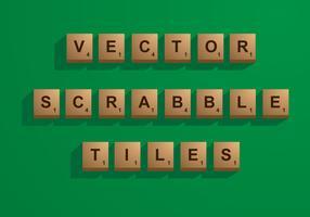 Vector Scrabble Tiles
