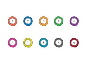 Free Lotto Balls Vector Series