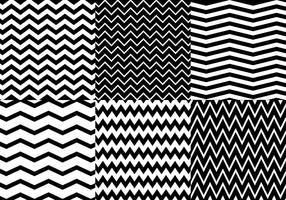 Zig Zag Background Vector Set