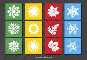 4 seasons icons