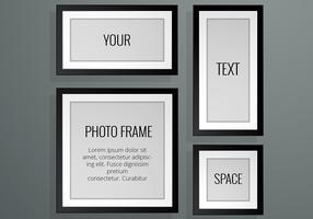 Realistic Photo Frame Vectors