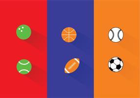 Sports Ball Vectors