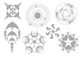 Simple Vector Crop Circles