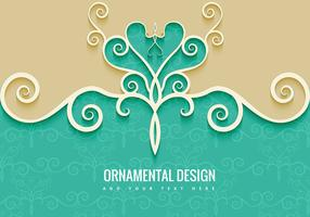 Ornamental Decorative Background
