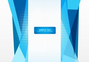 Abstract vector shape design