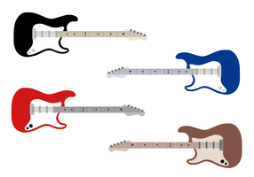 Free Electric Guitar Vector