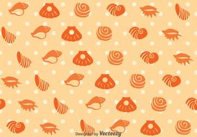 Sea Shell Pattern Vector