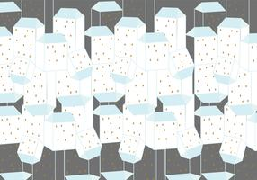 Buildings pattern background