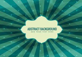 Starburst Vector Vintage Background