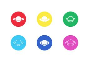Saturn Vector Icon Pack Vol 3