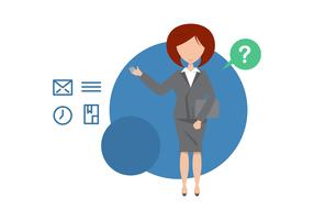 Free Administrative Assistant Illustration