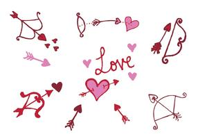 Free Cupid's Bow Vector Series