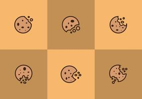 Free Bitten Cookies Vectors