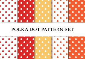 Polka Dot Pattern Set
