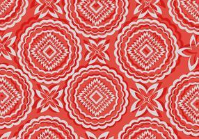 Vector area rug design