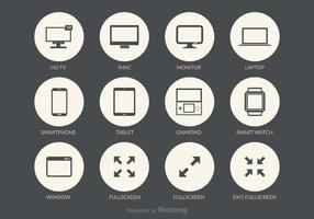 Free Screens Vector Icons