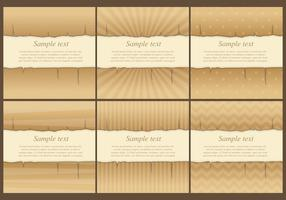Burned Vector Templates