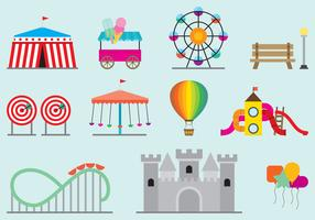 Amusement Park Vectors