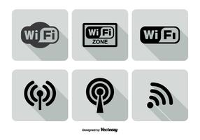Wifi Logo Icon Set
