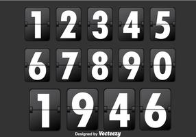 Black Number Counter