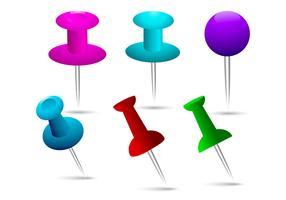 Thumb Tack Vectors
