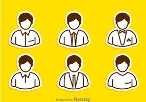 Man Icons Set