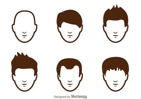 Hair Style Man Icons