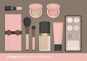 Cosmetics Vector Illustration