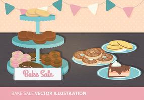 Bake Sale Vector Illustration