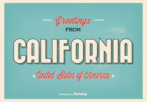 Greetings From California Illustration