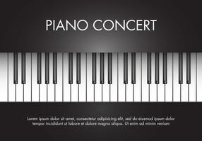 Free Classic Music Piano Vector