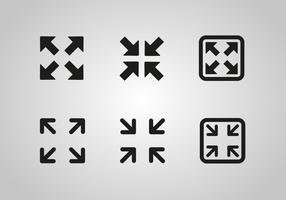 Free Full Screen Icon Vector