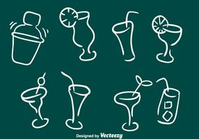 Sketchy Cocktail Icons