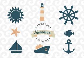 Vetores de mar e náutica