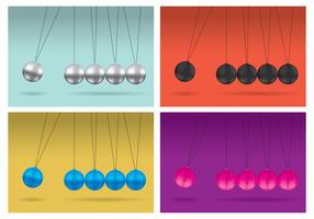 Newton Cradle Vector